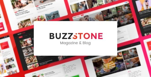 Buzz Stone | Magazine & Viral Blog WordPress Theme