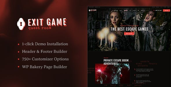 Review: Exit Game | Real-Life Secret Escape Room WordPress Theme free download Review: Exit Game | Real-Life Secret Escape Room WordPress Theme nulled Review: Exit Game | Real-Life Secret Escape Room WordPress Theme