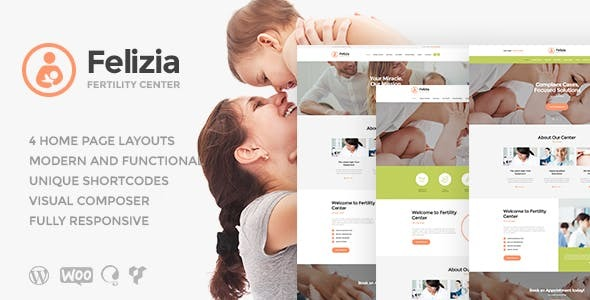 Felizia | Fertility Center & Medical WordPress Theme