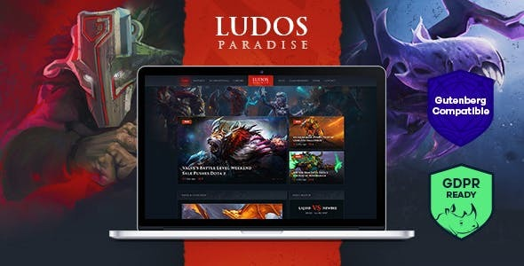 Ludos Paradise | Video Gaming Blog & Clan Esports WordPress Theme