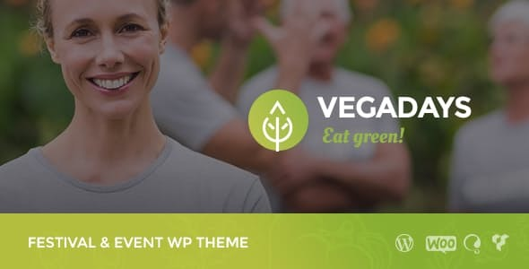 VegaDays - Vegetarian Food Festival & Eco Event WordPress Theme