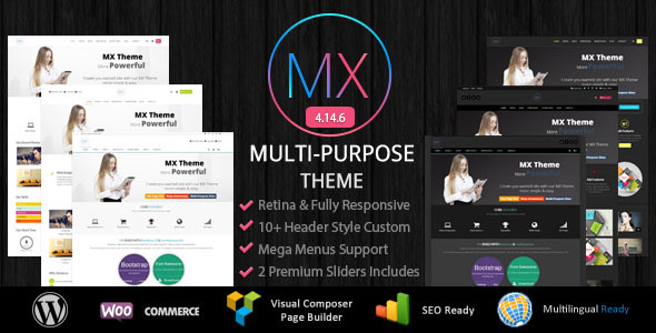 MX - Responsive Multi-Purpose WordPress Theme