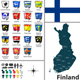 Map of Finland - GraphicRiver Item for Sale
