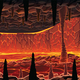 Background of Infernal Hot Cave with Lava - GraphicRiver Item for Sale