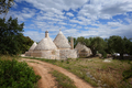 Trulli houses with driveway and garden - PhotoDune Item for Sale