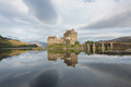 Eilean Donan castle with reflection in the water - PhotoDune Item for Sale