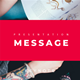 Message Multipurpose Keynote Template - GraphicRiver Item for Sale
