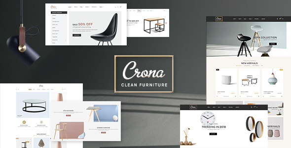 Crona - Luxury Furniture Architecture WooCommerce WordPress Theme