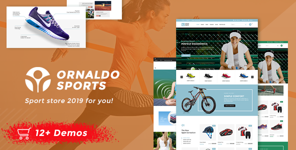 Ornaldo | Sports Shop WooCommerce WordPress Theme
