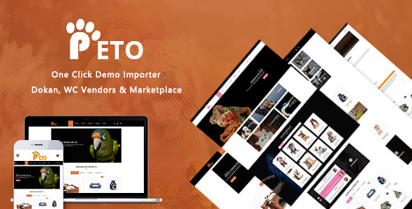 Peto | Animal Care WooCommerce WordPress Theme