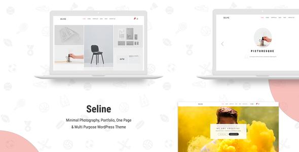 Seline – Creative Photography & Portfolio WordPress Theme