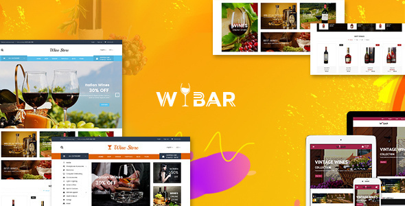 Wibar | Wine & Vineyard WooCommerce WordPress Theme