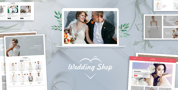 Wedding Shop | Love Paradise WooCommerce WordPress Theme