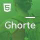 Ghorte - Responsive Landing HTML5 Template - ThemeForest Item for Sale