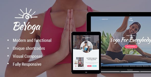 BeYoga | Yogastudio & Gym WordPress Theme