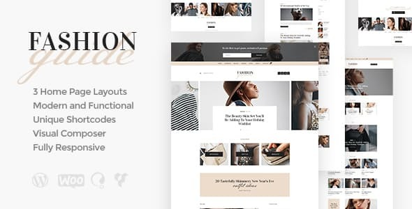Fashion Guide | Online Magazine & Lifestyle Blog WordPress Theme
