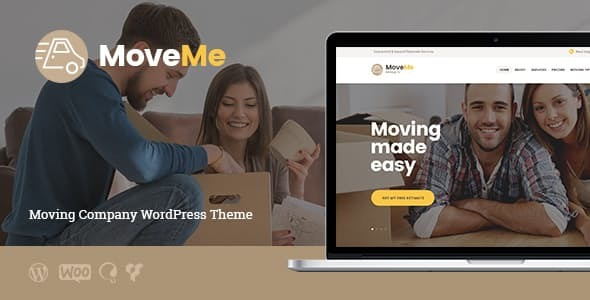 MoveMe | Moving & Storage Relocation Company WordPress Theme