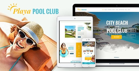 Playa | City and Private Beach & Pool Club WordPress Theme
