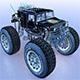 Monstertruck Hummer - 3DOcean Item for Sale