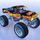 Monstertruck Reaper - 3DOcean Item for Sale
