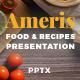 Food Restaurant Recipe Presentation - Ameris - GraphicRiver Item for Sale