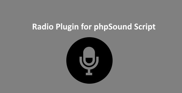 Radio Plugin for phpSound