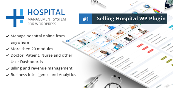 Hospital Management System for Wordpress Download