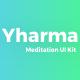 Meditation UI Kit - ThemeForest Item for Sale