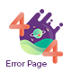 404 Error Page Template - GraphicRiver Item for Sale