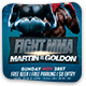 Fight MMA Flyer - GraphicRiver Item for Sale