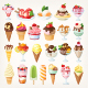 Set of Vector Ice Creams Images - GraphicRiver Item for Sale