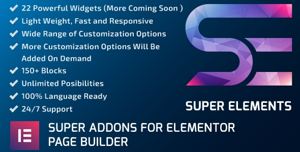 Super Elements - Addons for Elementor