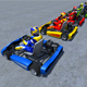 5 Low Poly Karts With Player Pack - 1 - 3DOcean Item for Sale