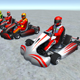 5 Low Poly Karts With Player Pack - 2 - 3DOcean Item for Sale