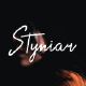 Styniar Font - GraphicRiver Item for Sale