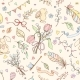 Seamless Spring Pattern - GraphicRiver Item for Sale