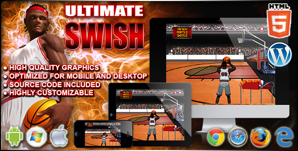 Ultimate Swish - Sportowa gra HTML5