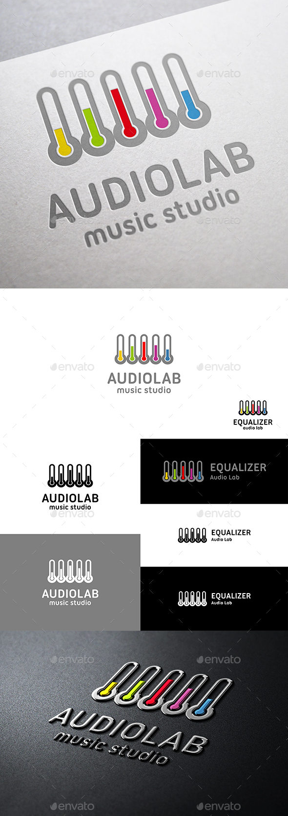 Audio Lab Music Equalizer Logo