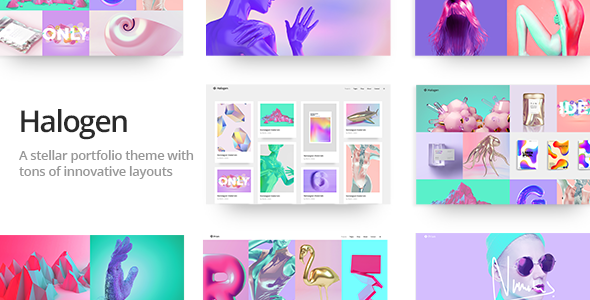 Halogen - Innovative Portfolio Theme