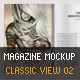 Magazine Mockup Classic View 02 - GraphicRiver Item for Sale