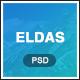 Eldas - Isometric Portfolio PSD Template - ThemeForest Item for Sale