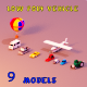 Low poly Vehicles - 3DOcean Item for Sale