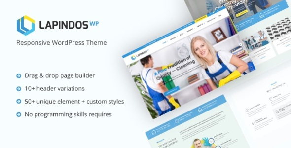 Lapindos - Responsive WordPress Theme