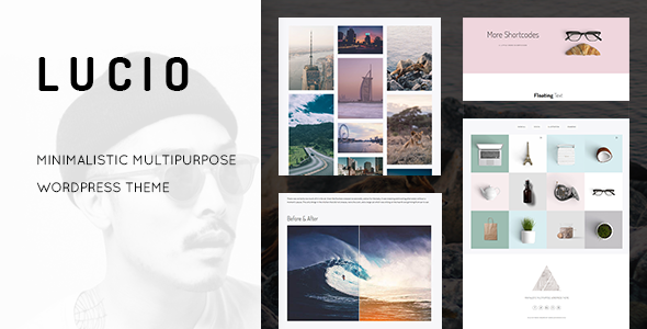 Lucio - Clean and Minimal Portfolio and Agency WordPress Theme