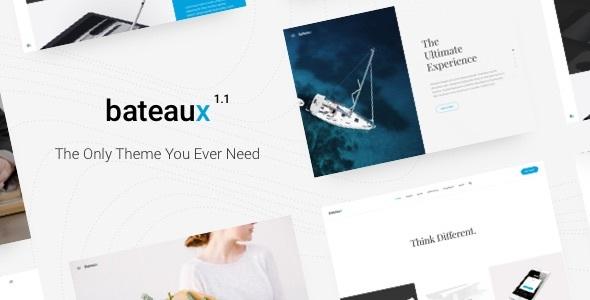 Bateaux - Creative Multi-Purpose WordPress Theme