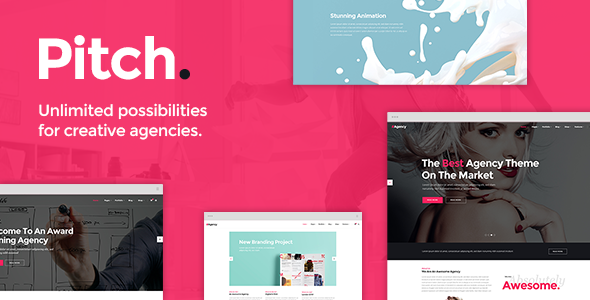 Pitch - Digital Agency & Freelancer Theme