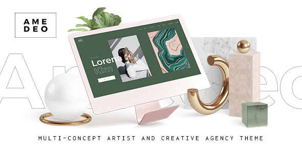 Amedeo - Multi-concept Artist and Creative Agency Theme
