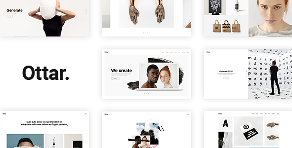 Ottar - Contemporary Portfolio Theme