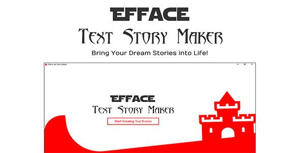 Efface Text Story Maker