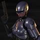 Robocop-Woman - 3DOcean Item for Sale